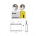 Đèn chiếu sáng khẩn cấp – NDMM17